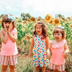 sunflower girls field